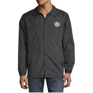 NEW Vans Torrey Coaches Jacket Size Small Black
